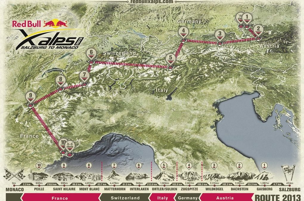 World's toughest adventure race, Redbull X-Alps, is Iridium Connected®