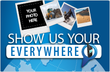 Show us your everywhere… and win with Iridium!