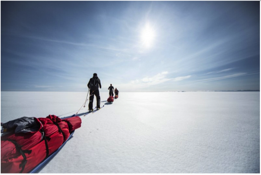 Walking With The Wounded's South Pole Allied Challenge To Be Iridium Connected®