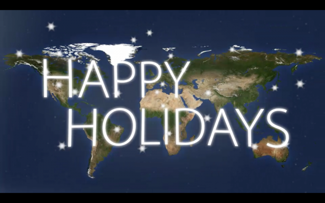 Season's Greetings from Iridium!