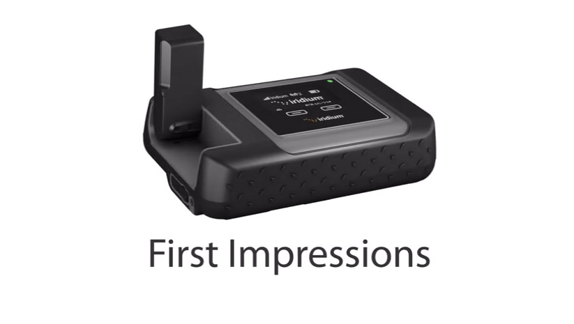 Iridium GO! – First Impressions