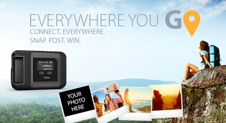 Snap. Post. Win. – Show us Everywhere You GO!