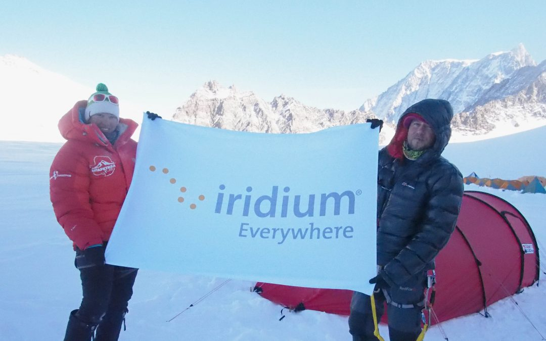 Russian expedition in Antarctica stays in touch thanks to Iridium®