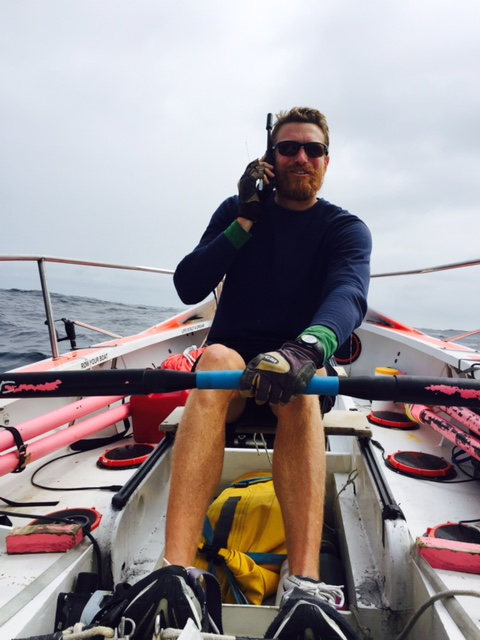 Two rowers raise money to fight breast cancer using Iridium as a lifeline