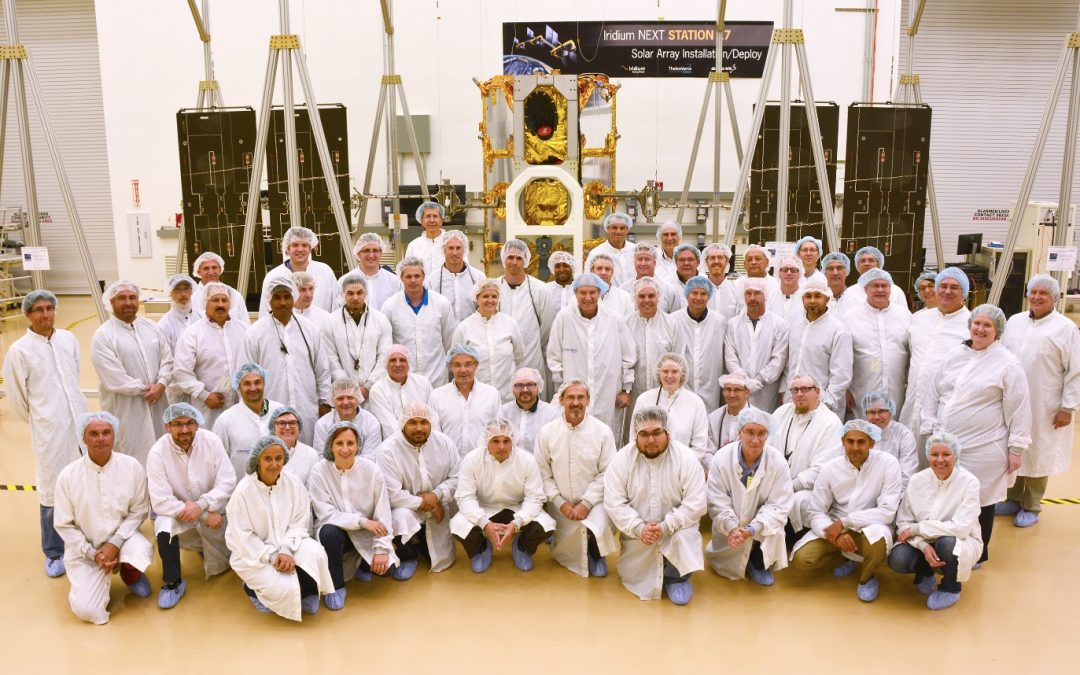 Iridium Boosts Iridium NEXT Production as the First Launch Is Within Reach