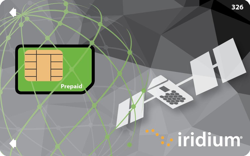 Iridium Prepaid Calling SIM Card