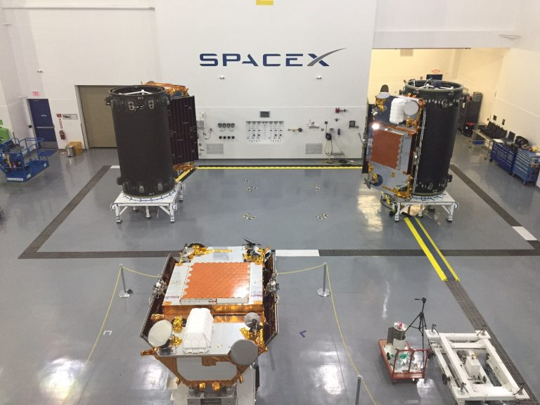 Full Payload of Satellites for Third Iridium® NEXT Launch are Onsite at Vandenberg Air Force Base