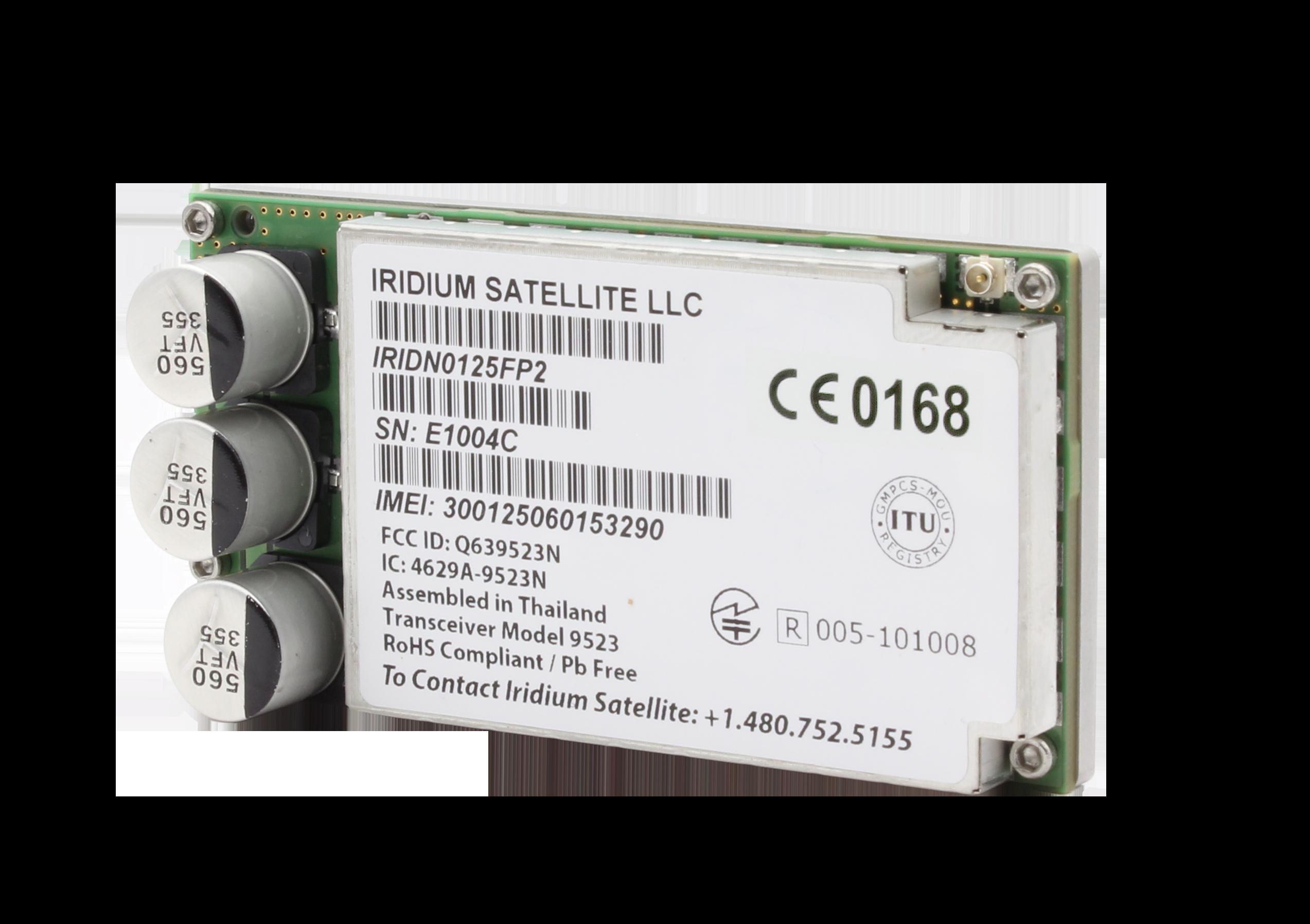 Iridium Core 9523N embedded transceiver.