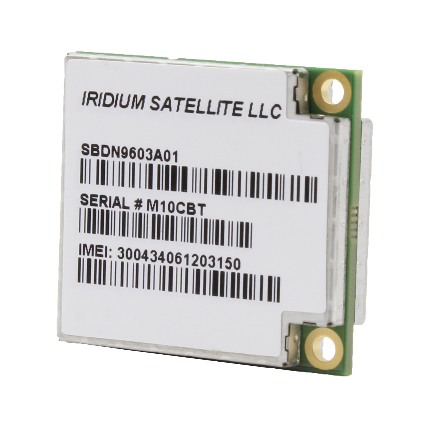Iridium 9603 embedded transceiver.