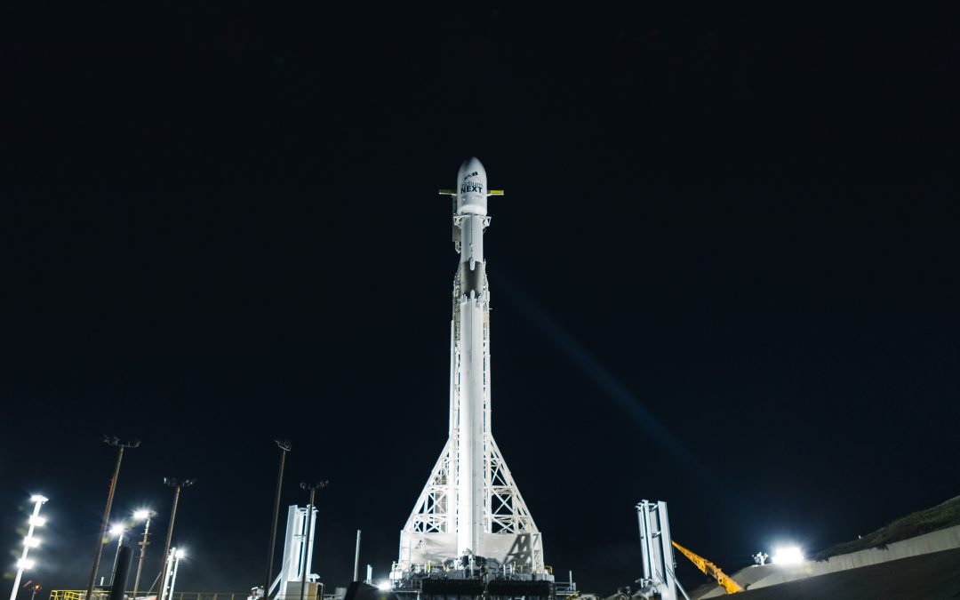 Flight-Proven Falcon 9 Rocket is Vertical at Vandenberg Air Force Base and Ready for Fourth Iridium® NEXT Launch