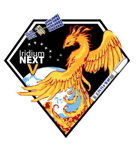 The Iridium Phoenix – Decoding the 5th Launch Patch