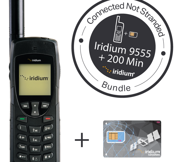 Iridium 9555 + 200 Minute Voucher Bundle