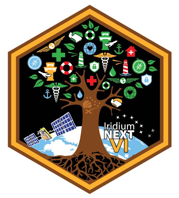 The Oak Tree – The Sixth Iridium® NEXT Launch Patch Hidden Meaning Revealed!