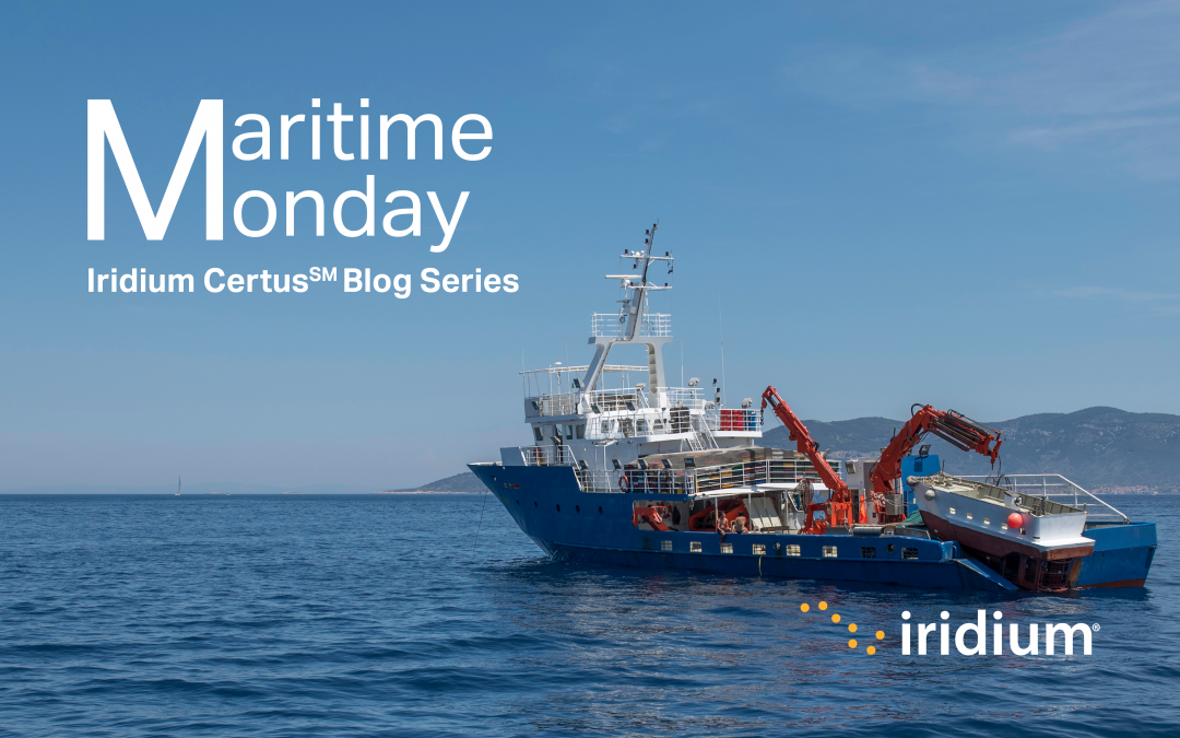 Maritime Monday: Hungry for Data? Is VSAT the Only Way?