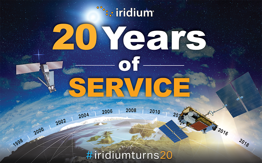 Join Us in Celebrating as #IridiumTurns20