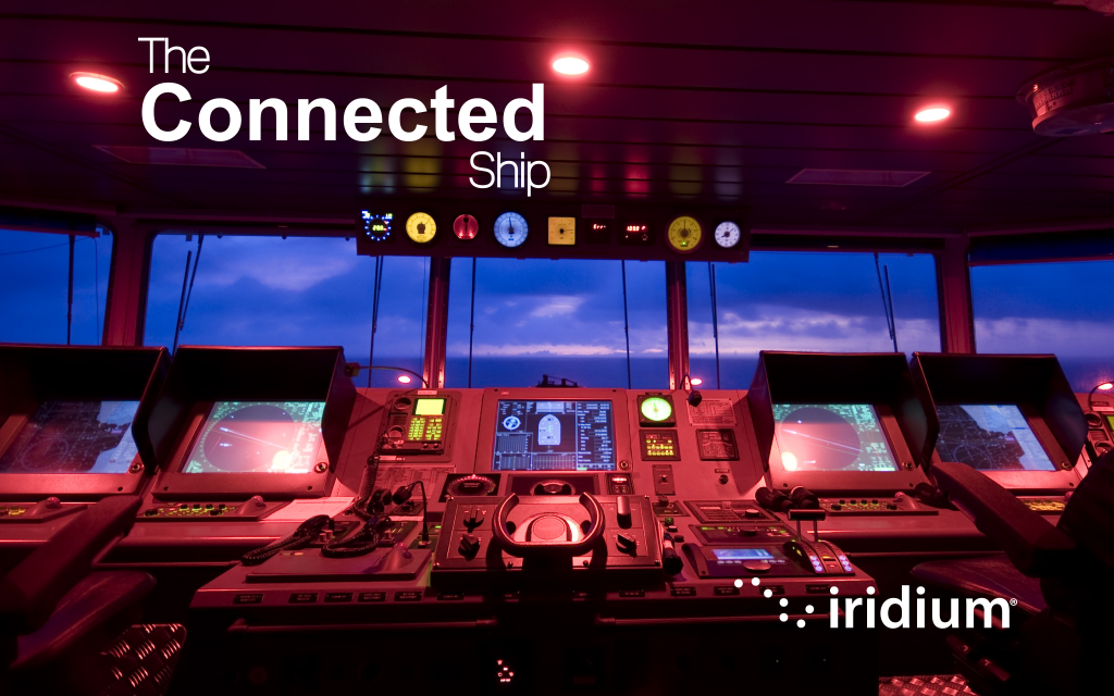 Iridium Certus enables The Connected Ship - Maritime