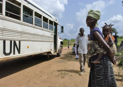 Iridium ITU Disaster Reponse Phones - Ebola Sierra Leonne