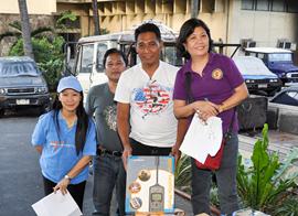 Iridium ITU Disaster Response Phones - Filipino Typhoon