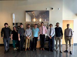 Summer 2019 class of interns in the Iridium Tempe office.