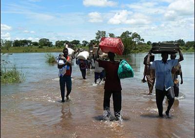 Iridium ITU Disaster Response Phones - Uganda Floods