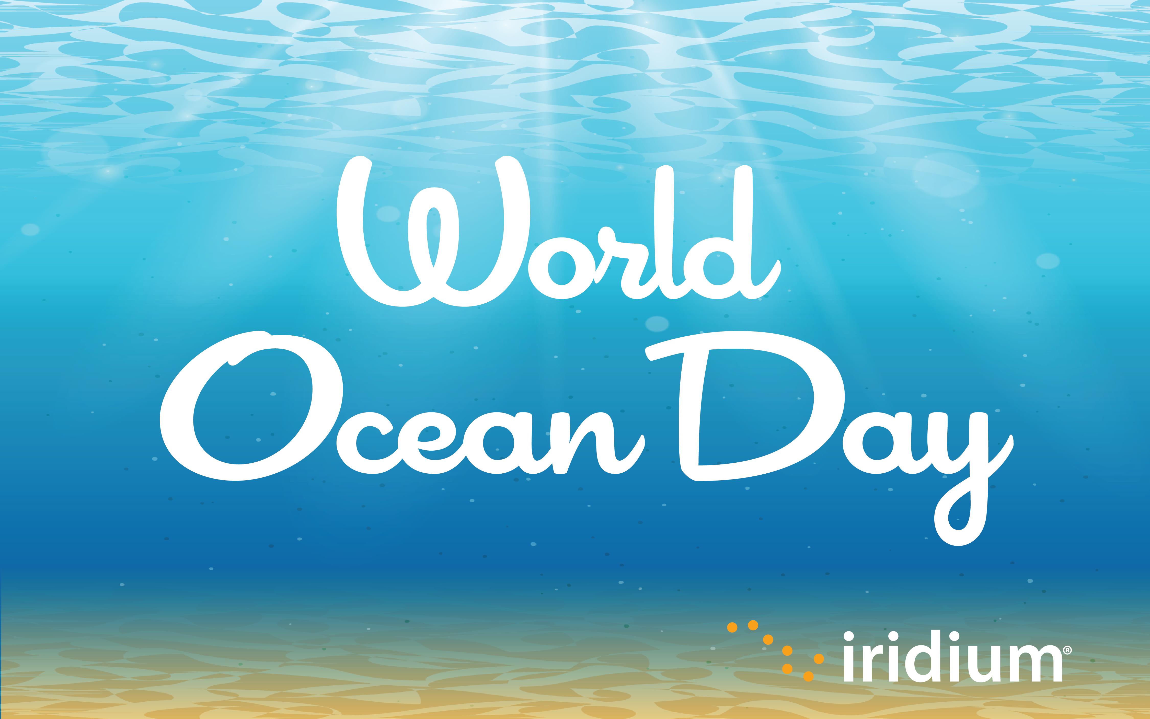Iridium World Ocean Day 2019