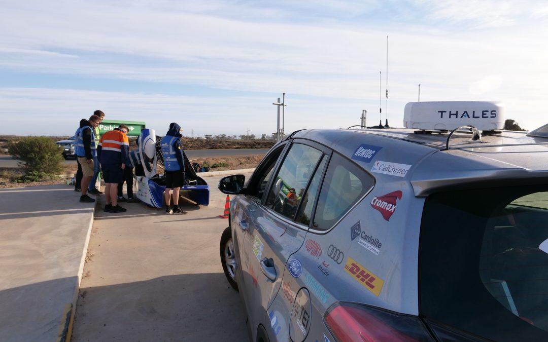 Network Innovations at World Solar Challenge 2019 in Australia