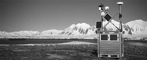 Remote Monitoring Arctic B/W