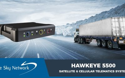 Introducing the HawkEye 5500 Vehicle Fleet Management Solution for Mission-Critical Operations Monitoring