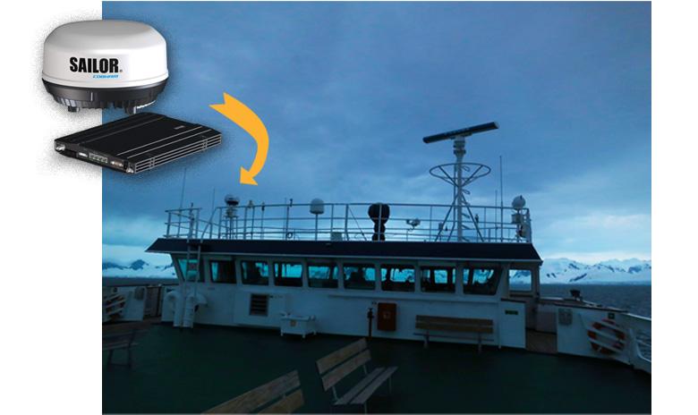 Ship with SAILOR CObham