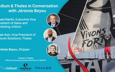 Iridium & Thales in Conversation with IMOCA Skipper Jérémie Beyou