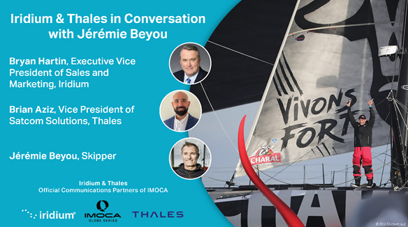 Iridium & Thales in Conversation with IMOCA Skipper Jérémie Beyou