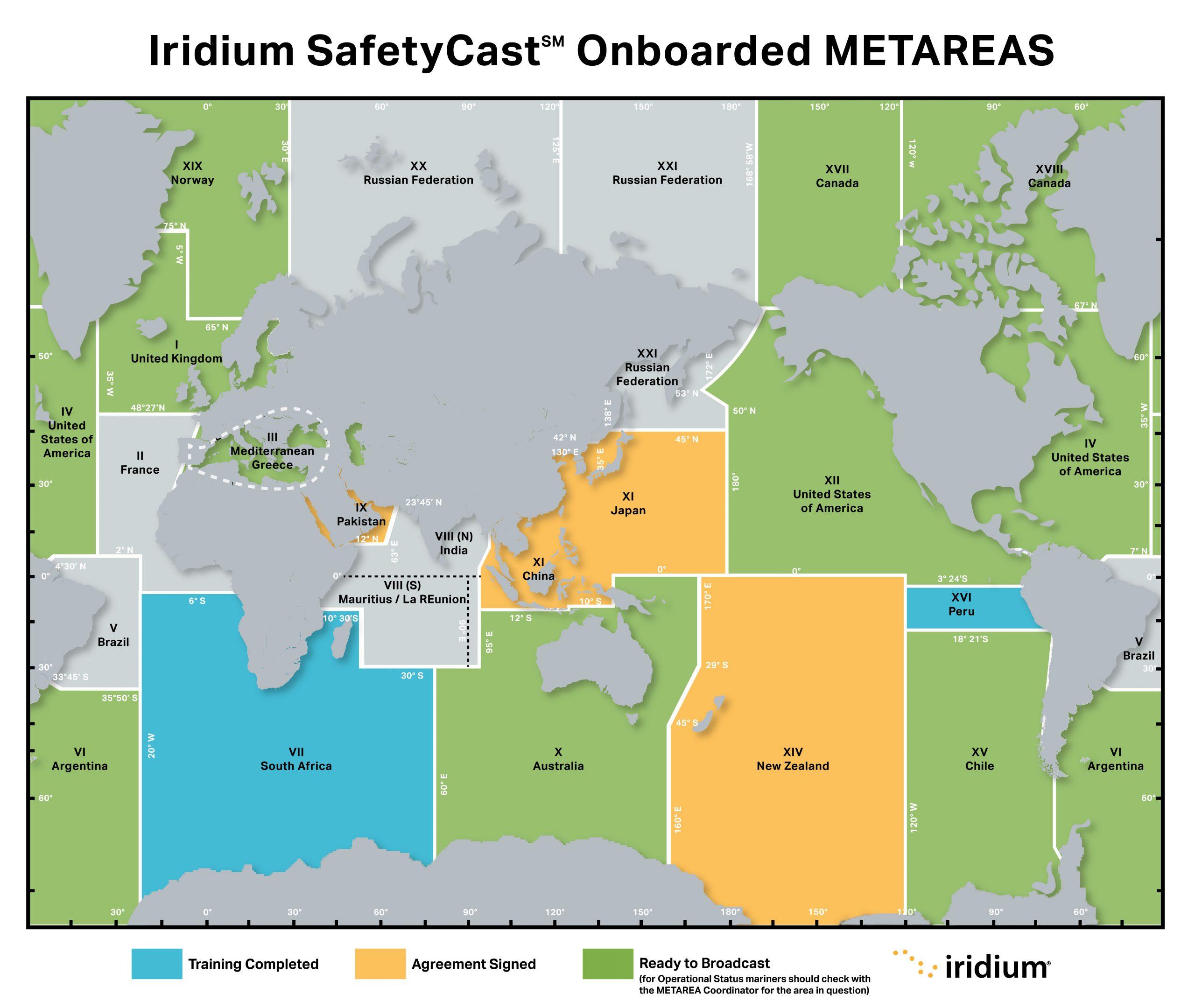 MetArea Map