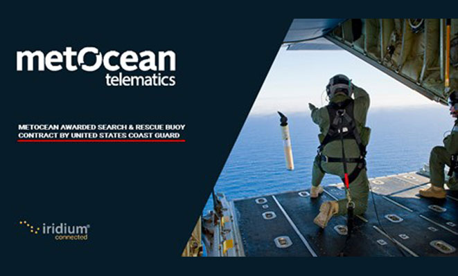 Iridium Partner MetOcean Telematics Provides Search & Rescue Buoys to the United States Coast Guard