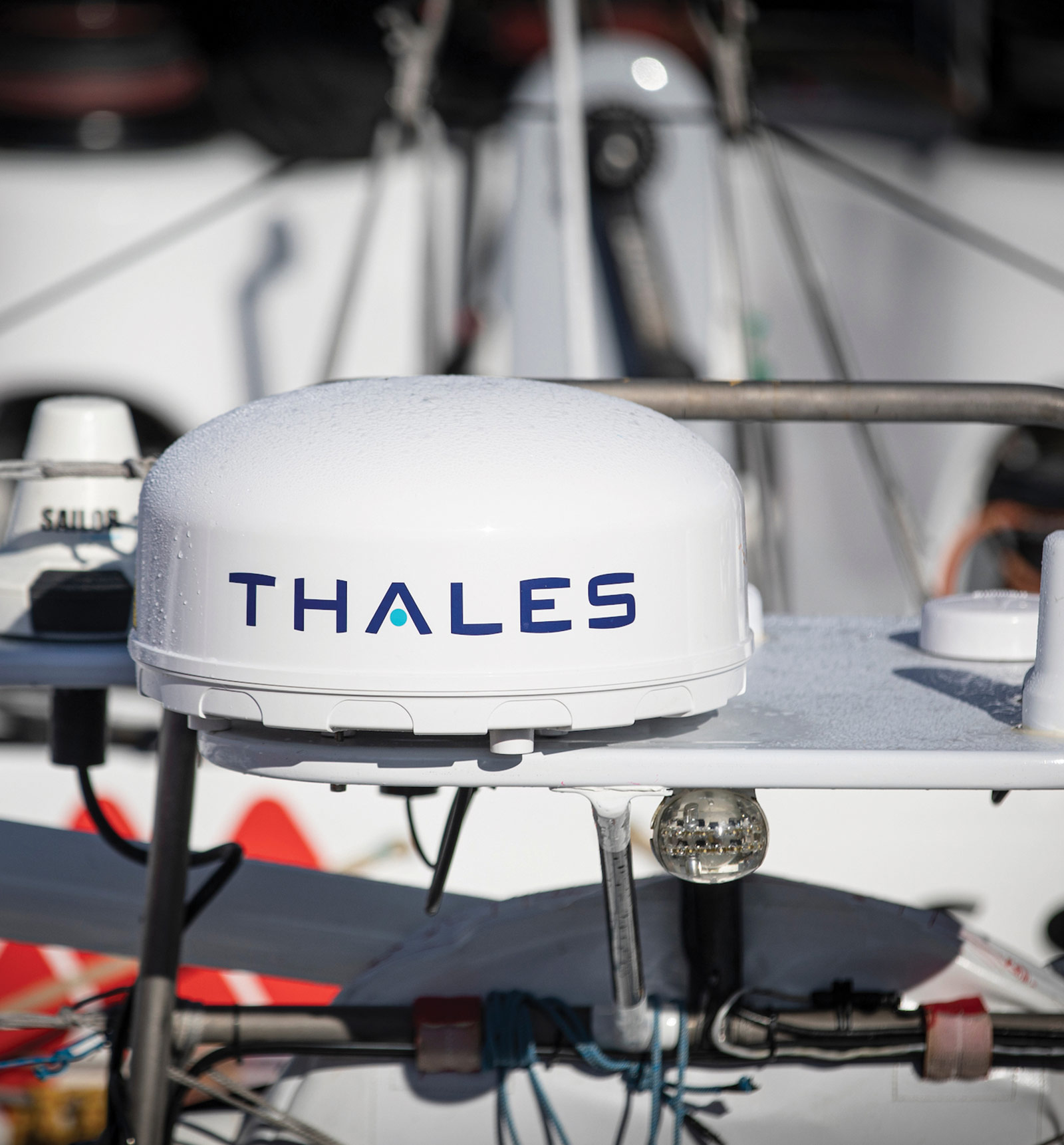 Thales VesseLINK during IMOCA race