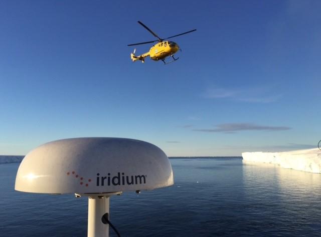 Iridium Pilot in use for Arctic expedition