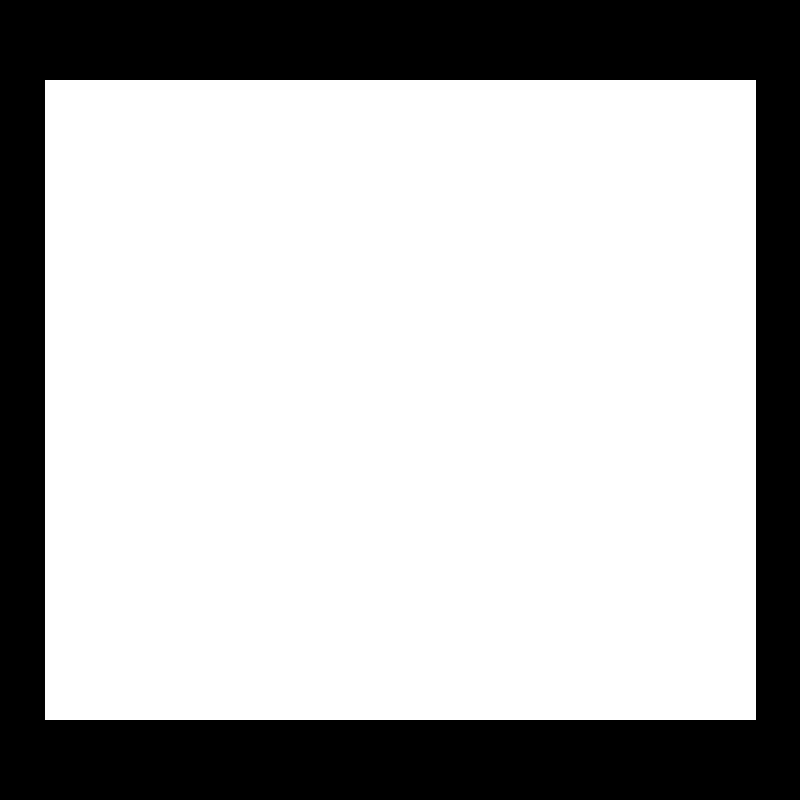 iridium burst icon in white
