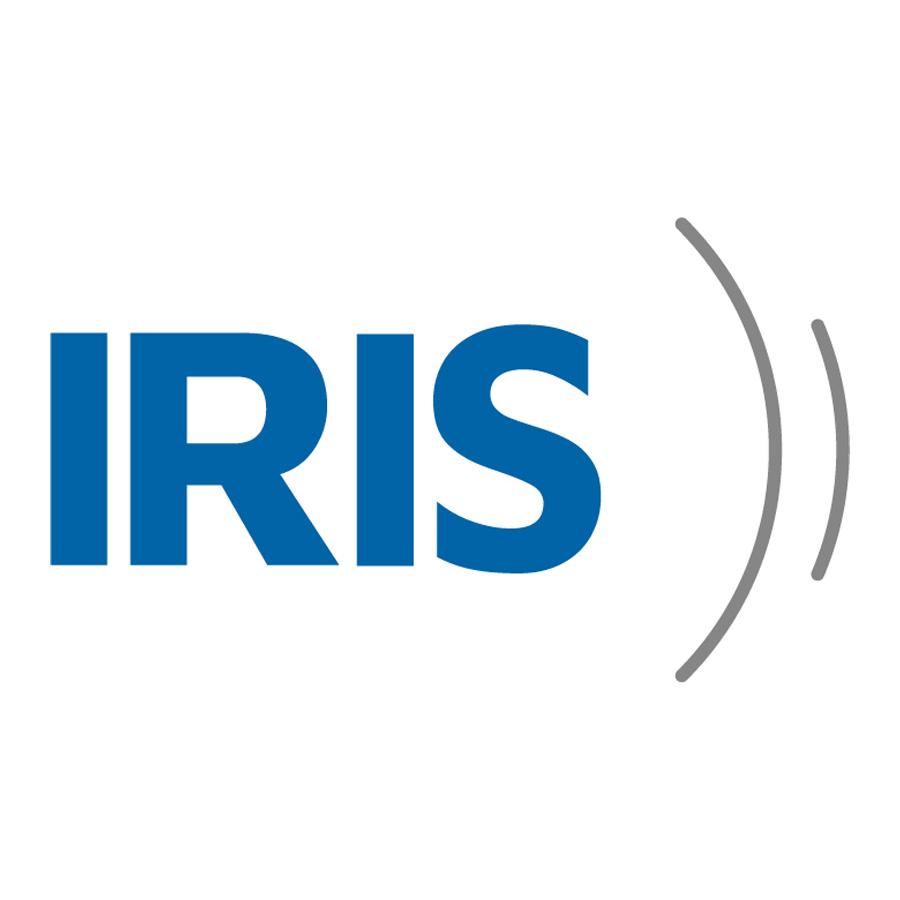 Image of IRIS app logo on white background
