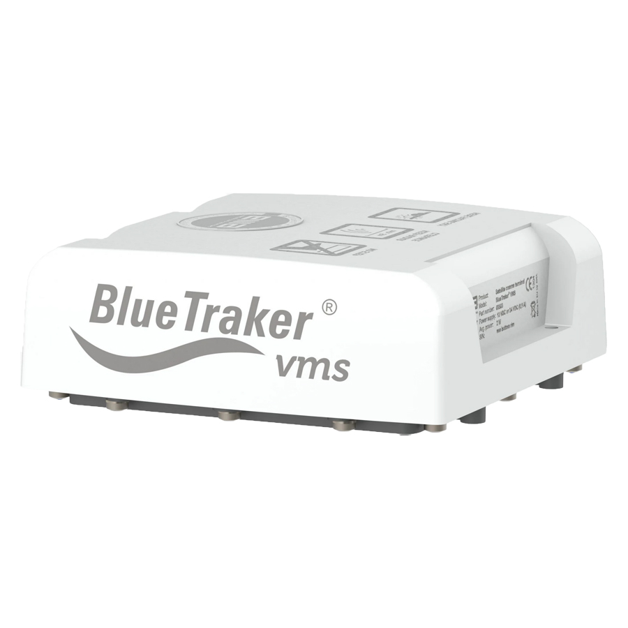 BlueTraker VMS product photo on white background
