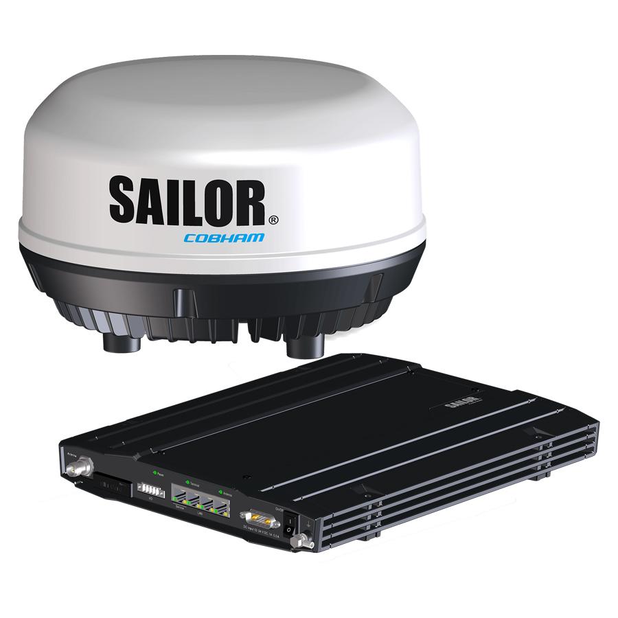 Iridium Connected SAILOR 4300 terminal with ADU and BDU