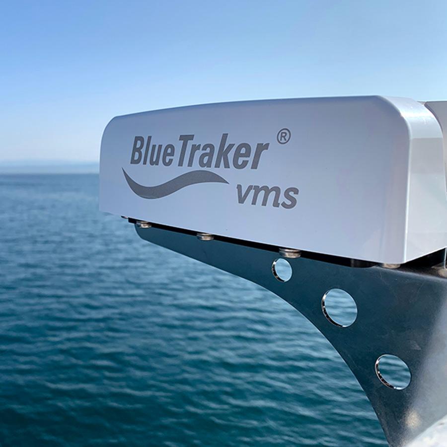 BlueTracker VMS solution at sea