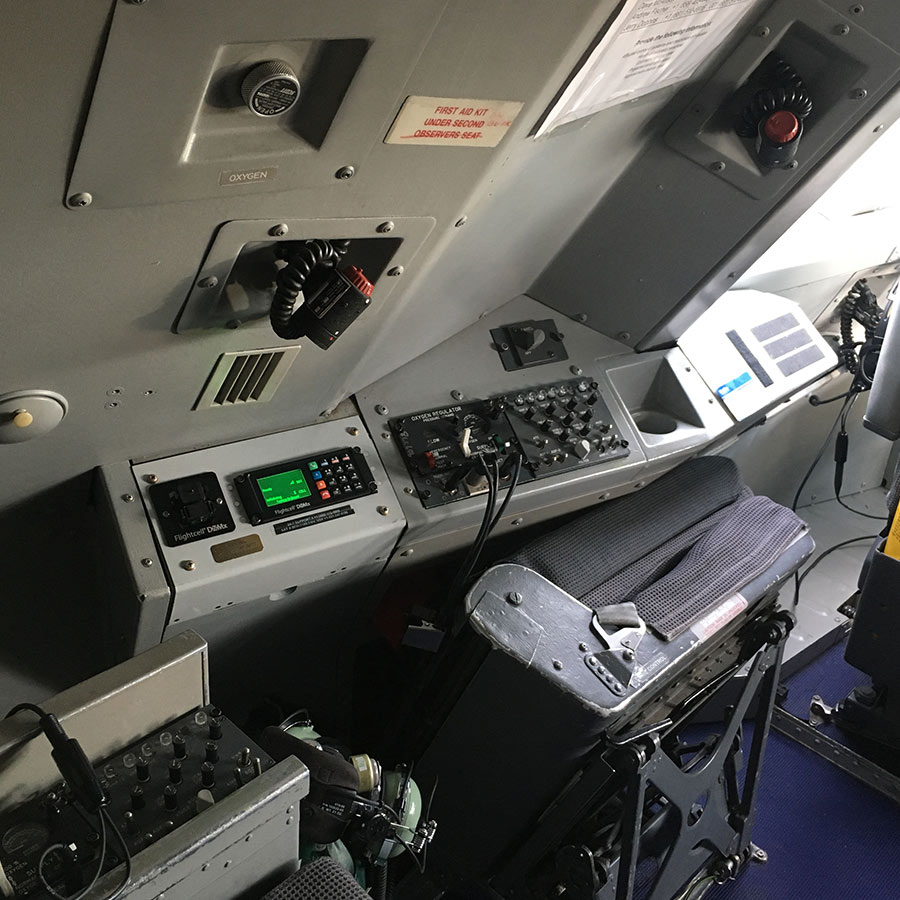 Flightcell DZmx in use on aircraft