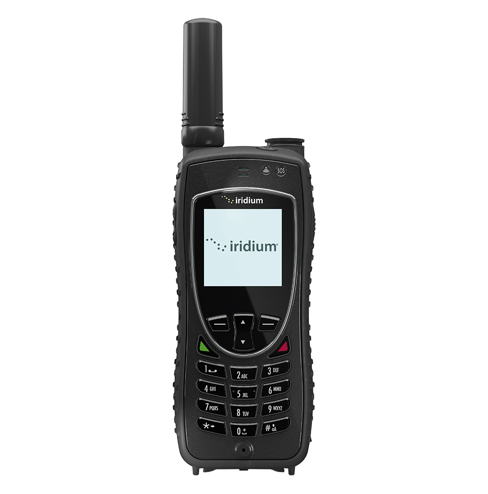 Iridium 9575A product photograph front view