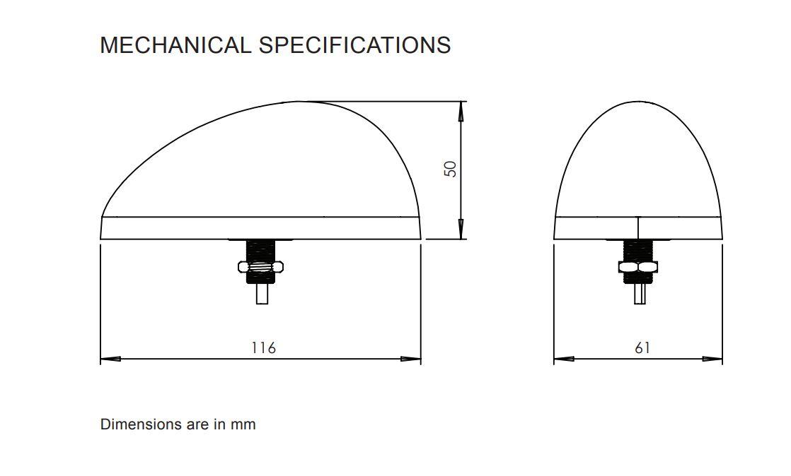 Maxtena SATFLEET antenna Specs