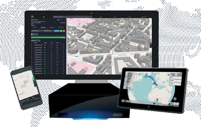 Silex Server system display