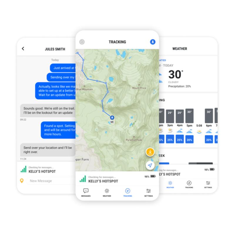 somewear hotspot mobile companion app