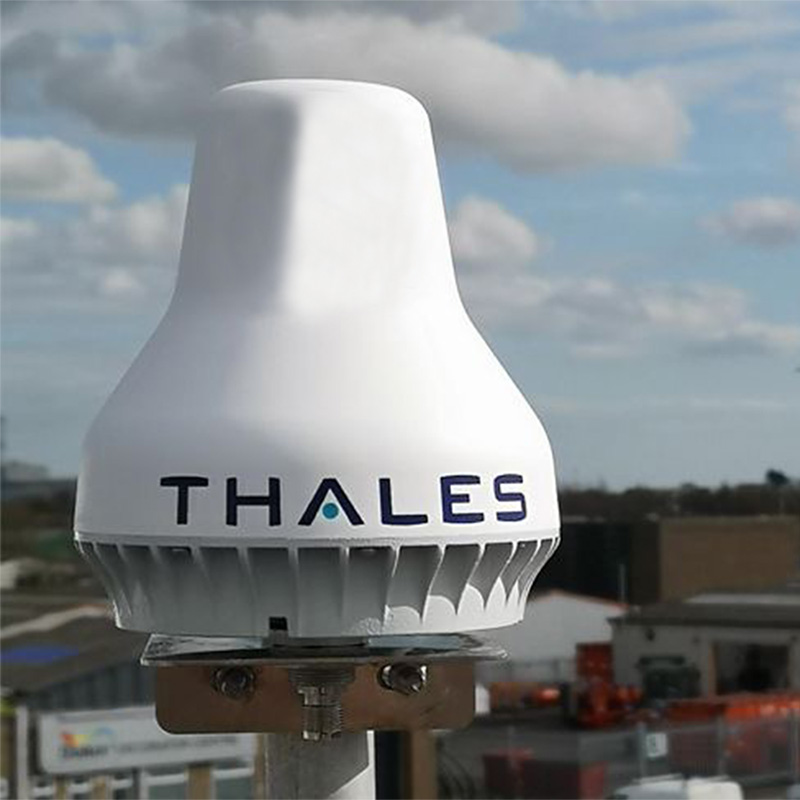 VesseLINK 200 by Thales installed on vessel at port
