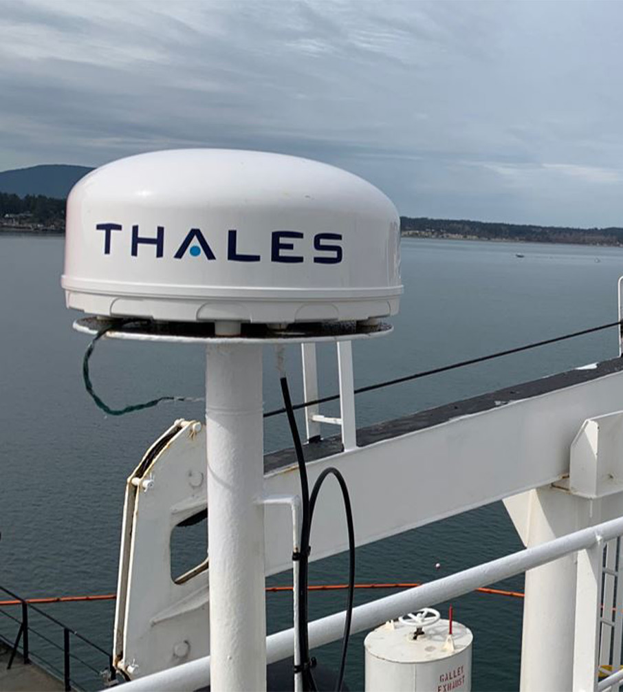 Iridium Connected VesseLINK by Thales