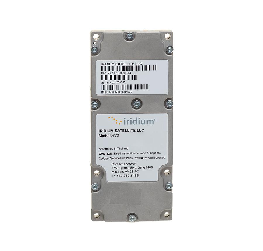 Iridium Certus 9770 module front view