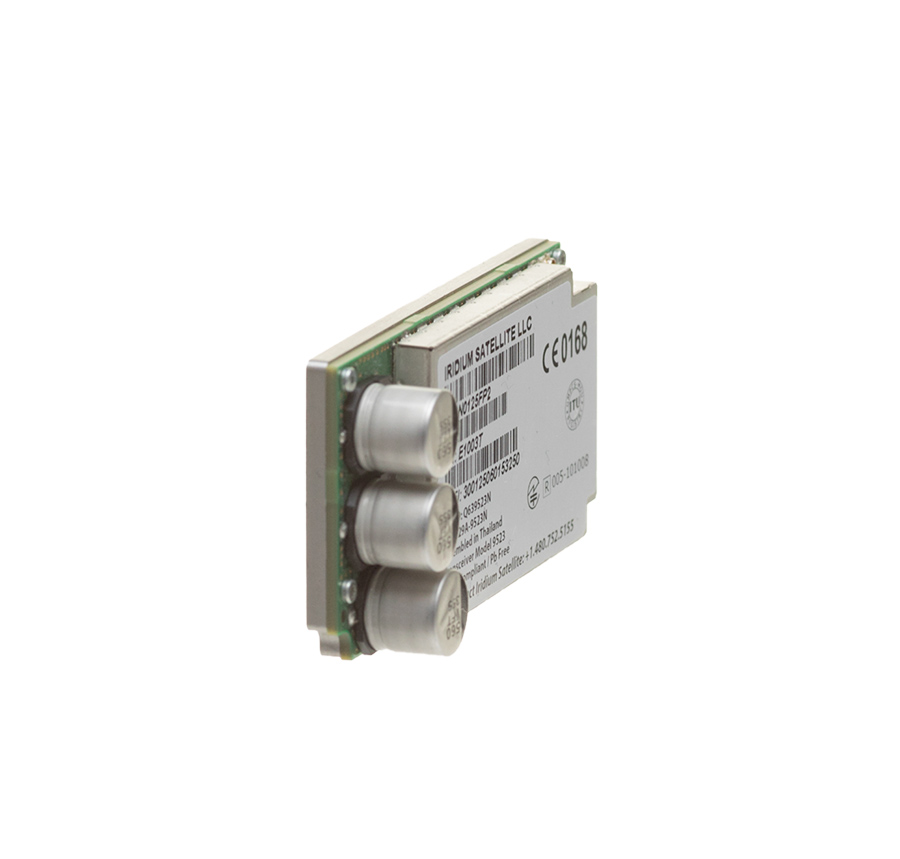 Iridium Core 9523 module angled side view