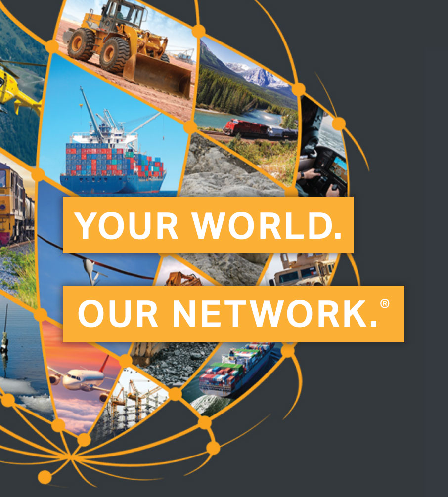Iridium Certus Your World. Our Network. graphic